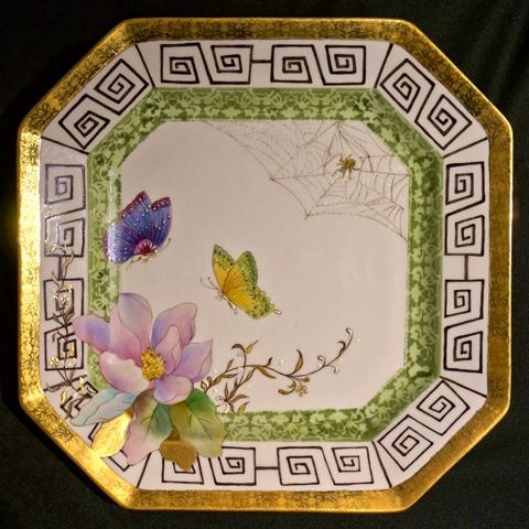 藝文研習成果展-釉上瓷器彩繪師生展