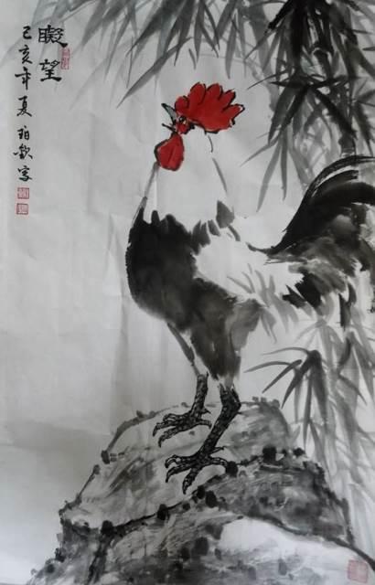 藝文研習成果展-謝珀欽師生水墨畫展 的推廣活動宣傳圖片