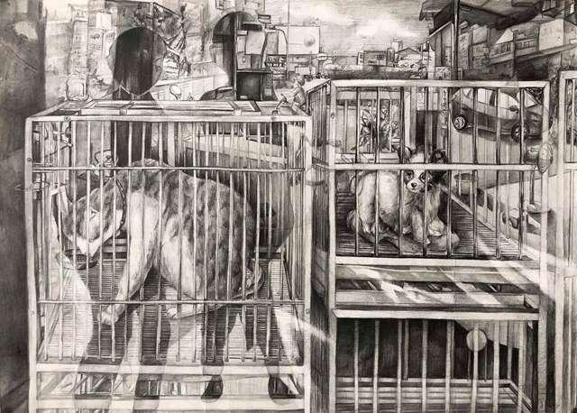 臺中市立五權國民中學美術班學生作品展 的推廣活動宣傳圖片
