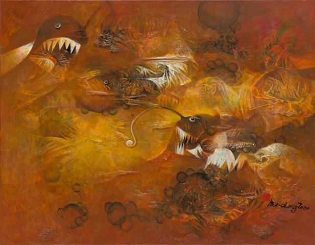 心海凝視-莊明中2020油畫創作邀請展 的推廣活動宣傳圖片