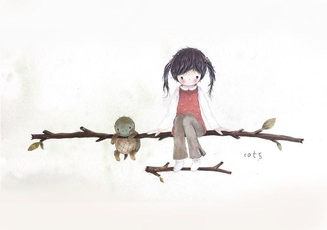 遇見木匠貓小5-水彩插畫圖文展 的推廣活動宣傳圖片