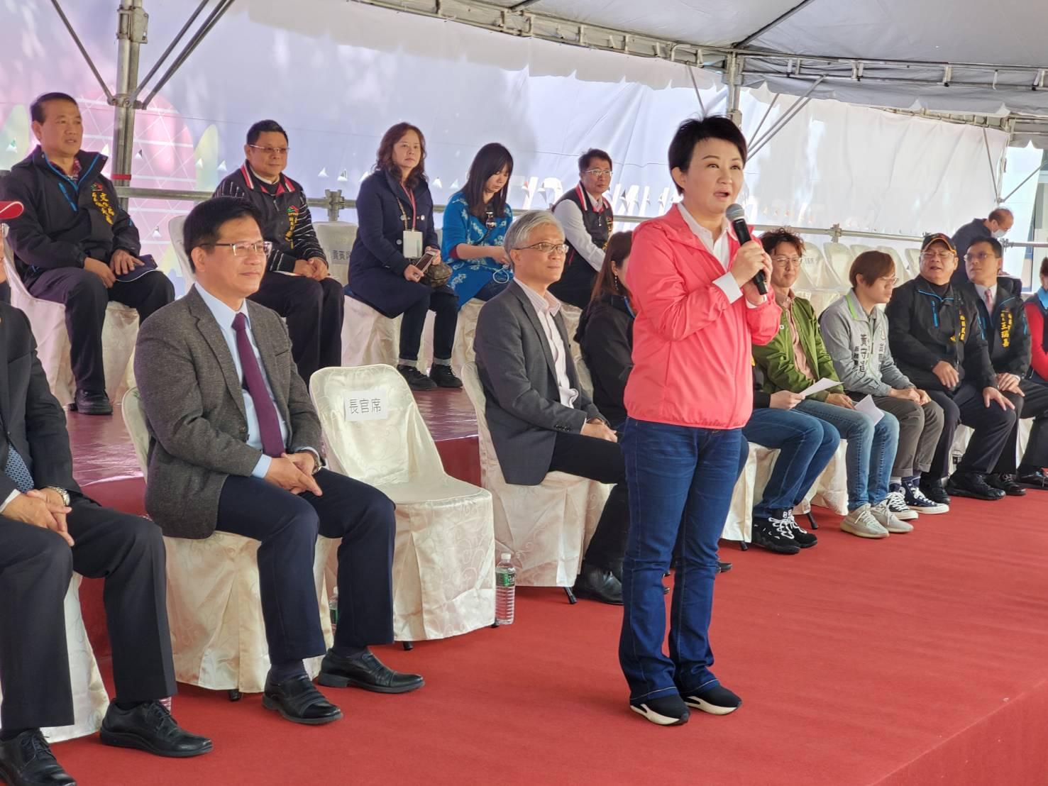 中市府盧秀燕市長歡迎全台民眾欣賞有史以來規模最大的台灣燈會