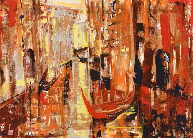 倪朝龍2020版畫油畫回顧展 的推廣活動宣傳圖片