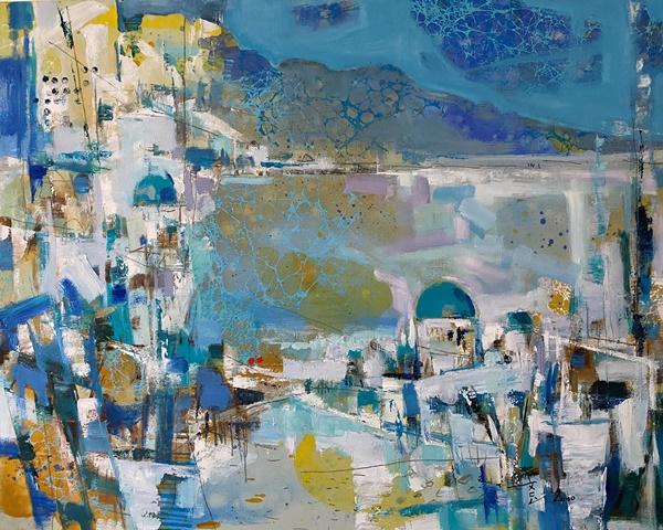 心象風景-邵文鳯油畫創作個展 的推廣活動宣傳圖片